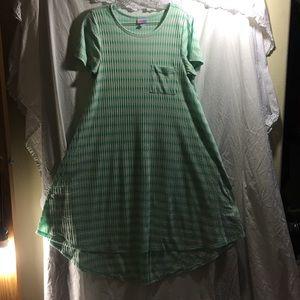 LuLaRoe dress size medium (fits up to XL)